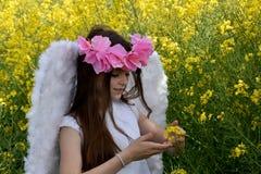 Angel Girl Imágenes de archivo libres de regalías