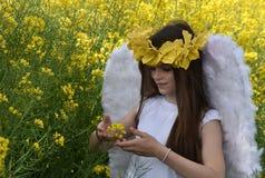 Angel Girl Foto de archivo libre de regalías
