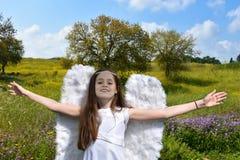 Angel Girl Imagen de archivo