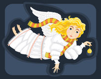 Angel Girl Bell Royalty Free Stock Photos