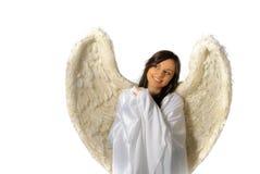 Angel girl portrait Stock Images