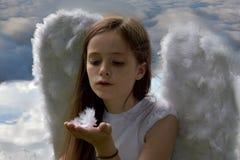 Angel girl Stock Photos
