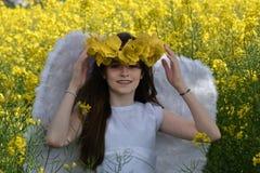 Angel girl Royalty Free Stock Image