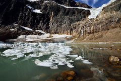 Angel Glacier Royaltyfri Bild