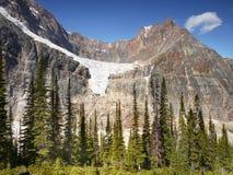 Angel Glacier, Jasper NP Stock Image