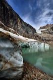 Angel Glacier Mount Edith Cavell Royaltyfria Foton