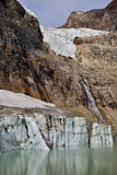 Angel Glacier Mount Edith Cavell Royalty-vrije Stock Afbeeldingen