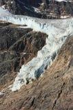 Angel Glacier near Jasper Stock Photography