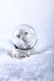 Angel in glass sphere Royalty Free Stock Photography