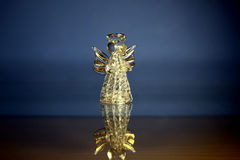 Glass angel stock image