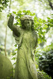 Angel Grave Sculpture in Cemetery - 8 Royalty Free Stock Images