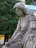 Angel. On graveyard in Croatia Royalty Free Stock Images