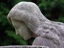 Angel. On graveyard in Croatia Royalty Free Stock Photography