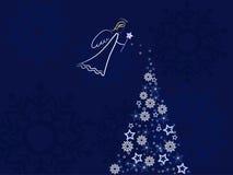 Angel greeting card Royalty Free Stock Photo
