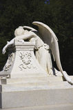 Angel of Grief. Memorial marble sculpture royalty free stock photography