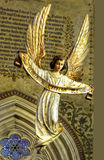 Angel Guardian Statue Stock Image