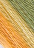 Angel hair pasta. Multi-colored angle hair pasta Stock Photo