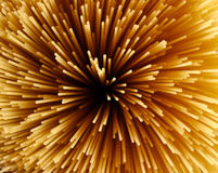 Angel Hair Pasta. Uncooked Angel Hair Pasta Royalty Free Stock Image