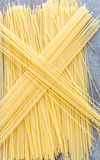 Angel Hair Pasta. Fresh and raw angel hair pasta / capellini pasta vertical stock image Stock Photos