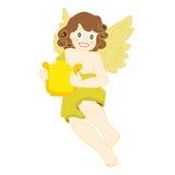 Angel with Harp. Stock Image