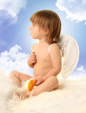 Angel in haven Royalty Free Stock Image