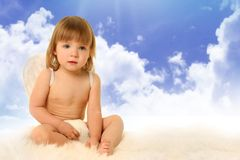 Angel in haven Stock Photography