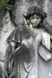 Angel Headstone - Closeup 2 (4764) Royalty Free Stock Photography