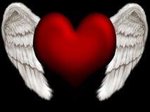 Angel heart Stock Photo