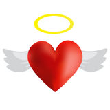 Angel Heart Images libres de droits