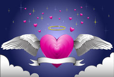 Angel Heart Royalty Free Stock Images