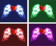 Angel heart Stock Photos