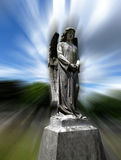 Angel Of Heaven 2. A heavenly graveyard angel, and a good concept for religious concepts Royalty Free Stock Images