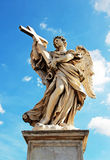 Angel Holding a Cross Royalty Free Stock Images