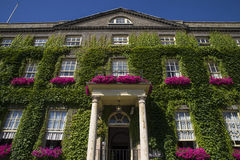 Angel Hotel begraver in St Edmunds Royaltyfri Foto