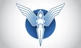 Angel Icon e logotipo ilustração do vetor