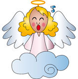 Angel illustration Royalty Free Stock Photos
