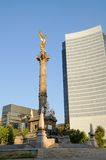 Angel of Independence I. The Angel of Independence (victory column) in Mexico City Royalty Free Stock Photos