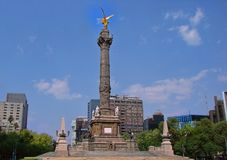Angel of Independence monument, Mexico City stock image