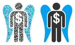 Angel Investor Composition des dollars Illustration Libre de Droits