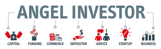 Free Angel Investor Concept Vector Illustration Stock Images - 132332594