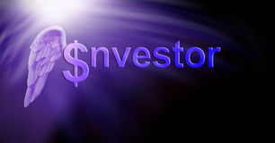 Angel Investor Dollars illustration stock
