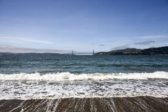 Angel Island Beach Golden Gate View Stock Images
