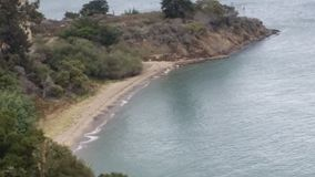 Angel Island Kalifornien Fotografering för Bildbyråer