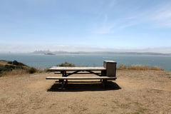 Angel Island Picnic Spot Royalty Free Stock Images