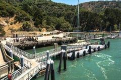 Angel Island San Francisco Bay Arkivfoton