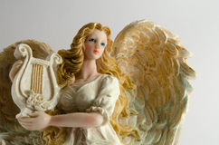 Angel isolated on white Royalty Free Stock Photo
