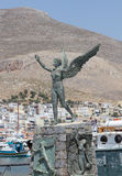 Angel of Kalymnos Royalty Free Stock Photo