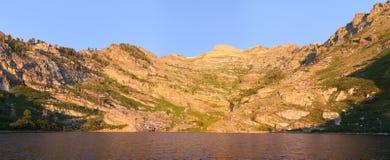 Angel Lake at Sunrise Stock Image
