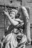Angel with the lance Royalty Free Stock Photo