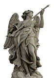 Angel with the lance on Ponte Sant'Angelo, Rome Stock Image
